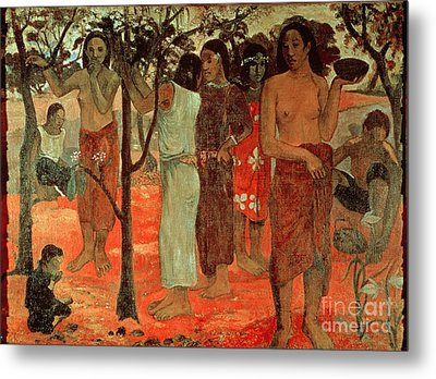 Delightful Days Metal Print by Paul Gauguin