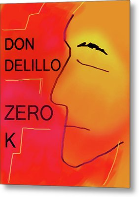 Delillo Zero K Poster  Metal Print by Paul Sutcliffe