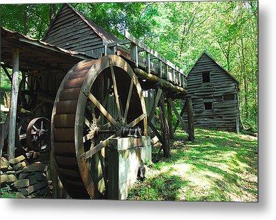 Dellinger Mill Metal Print by Alan Lenk