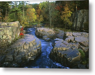 Dells Of The Eau Claire Metal Print by Peter Skiba
