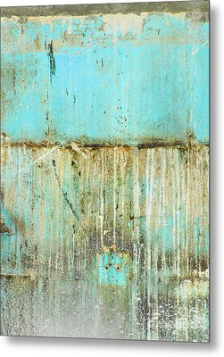 Delray Biker Blues By Anahi Decanio Metal Print by WALL ART and HOME DECOR
