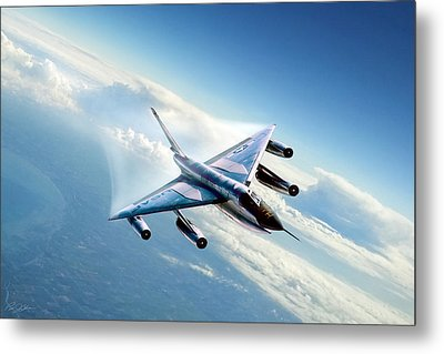 Delta Wing Wonder Metal Print by Peter Chilelli