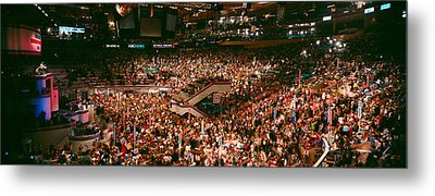 Democratic Convention At Madison Square Metal Print by Panoramic Images