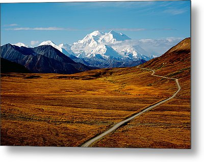 Denali Metal Print by Graham Clark