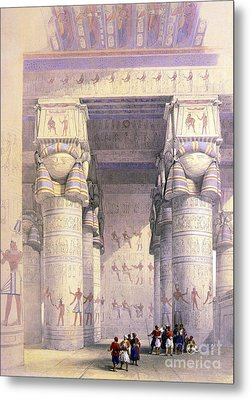 Dendera Temple Complex, 1930s Metal Print by Science Source