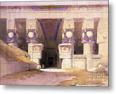 Dendera Temple Complex, 1938 Metal Print by Science Source