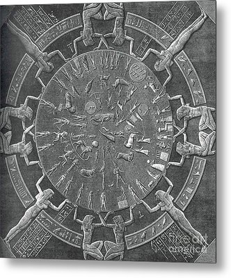 Dendera Zodiac Metal Print by Science Source