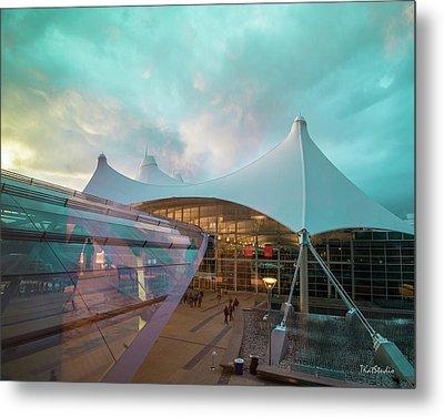 Denver International Airport Metal Print