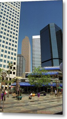 Denver Architecture Metal Print by Frank Romeo