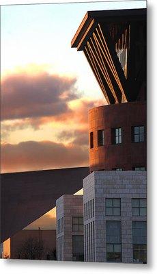 Denver Art Museum And Library Metal Print