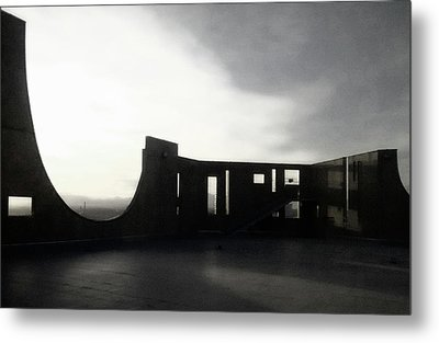 Metal Print featuring the photograph Denver Art Museum Ponti 2 by Marilyn Hunt
