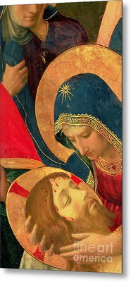 Deposition From The Cross Metal Print by Fra Angelico