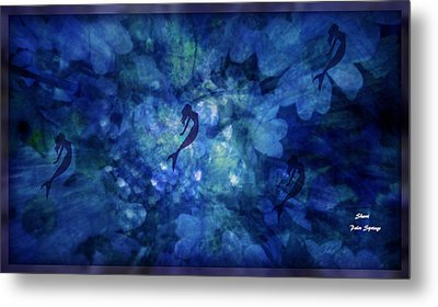 Depth Of Underwater Beauty Metal Print