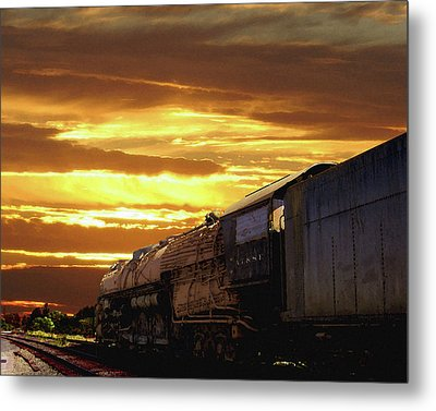 Derelict At Dawn Metal Print by Timothy Bulone