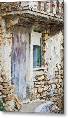 Derelict House Metal Print