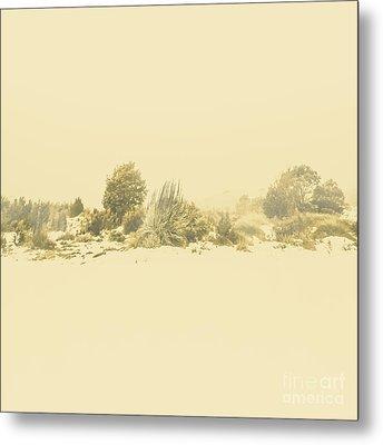 Derwent Bridge Winter Scene Metal Print