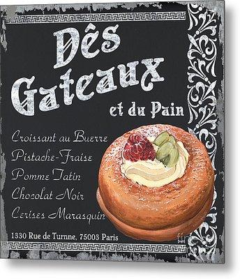 Des Gateaux Metal Print by Debbie DeWitt