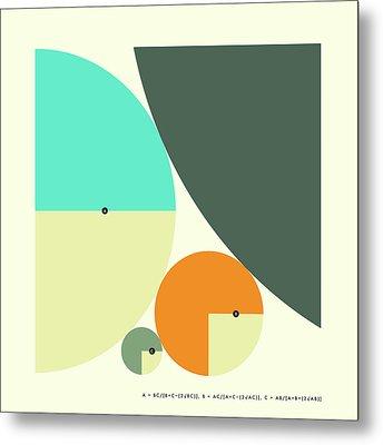 Descartes Theorem Metal Print by Jazzberry Blue
