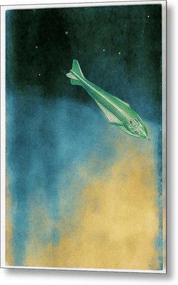 Descent Into Jupiter Metal Print