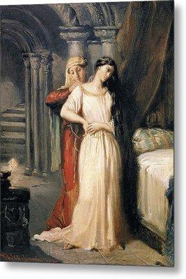 Desdemona Retiring To Her Bed Metal Print