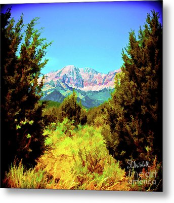 Deseret Peak Metal Print