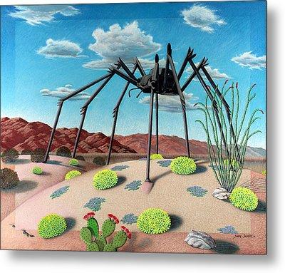 Desert Bug Metal Print by Snake Jagger