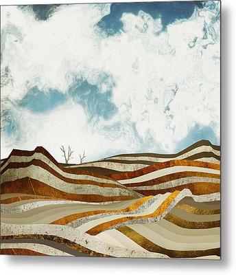 Desert Calm Metal Print by Spacefrog Designs