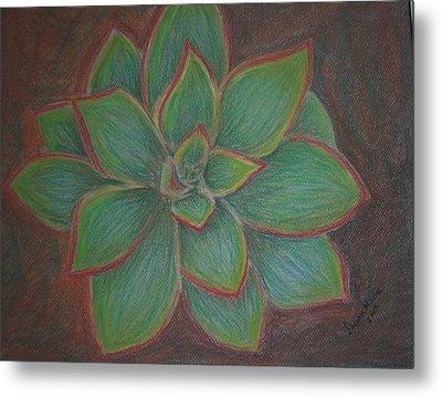 Desert Flower Metal Print by Dawn Marie Black