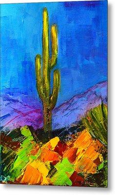 Desert Giant Metal Print by Elise Palmigiani