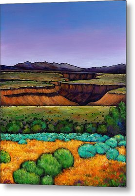 Desert Gorge Metal Print by Johnathan Harris