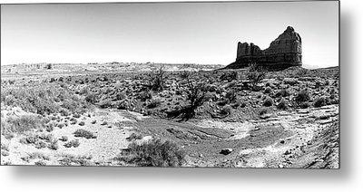 Desert Landscape - Arches National Park Moab, Utah Metal Print