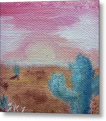 Desert Landscape Metal Print by Jera Sky