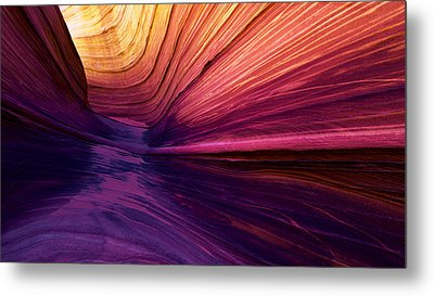 Desert Rainbow Metal Print by Chad Dutson