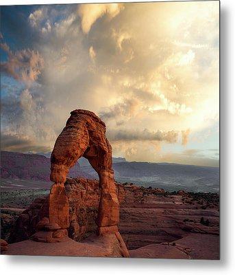Desert Storm Metal Print by Peter Irwindale