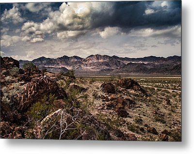 Deserted Red Rock Canyon Metal Print