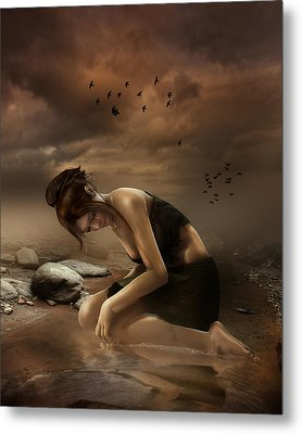 Desolation Metal Print by Mary Hood