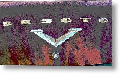 Desoto Metal Print by Audrey Venute