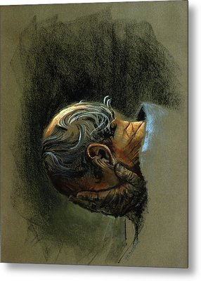 Despair. Why Are You Downcast? Metal Print