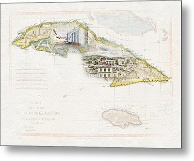 Destination Trinidad Metal Print
