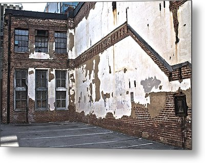 Deteriorated Metal Print
