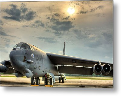 Deterrence  Metal Print by JC Findley