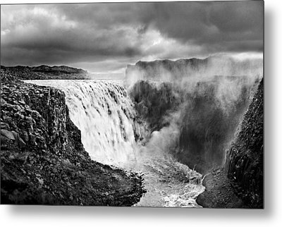 Dettifoss Waterall, Iceland. Metal Print by James Clancy