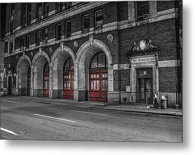 Detroit Fire Department Headquarters  Metal Print