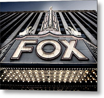 Detroit Fox Theatre Metal Print
