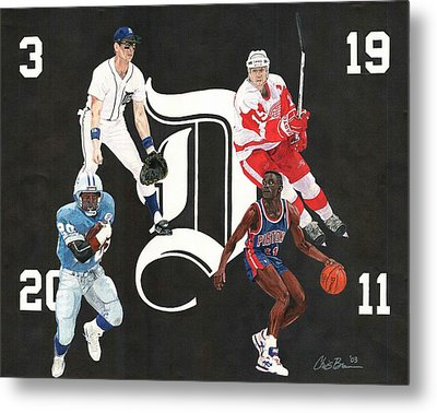 Legends Of The D Metal Print by Chris Brown