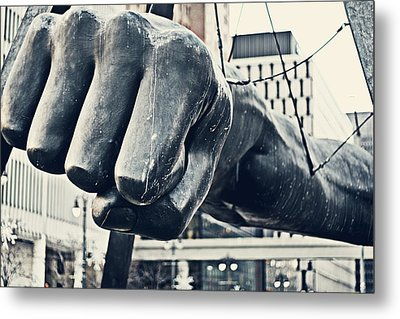 Detroit Joe Louis Fist - Color Metal Print