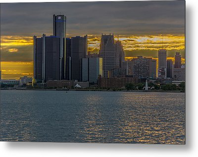 Detroit Versus Everybody  Metal Print