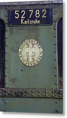 Deutsche Reichsbahn Metal Print by Falko Follert