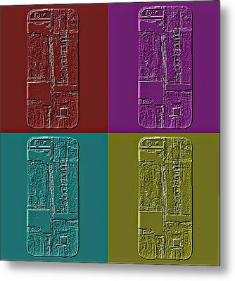 Devices Metal Print by KA Davis