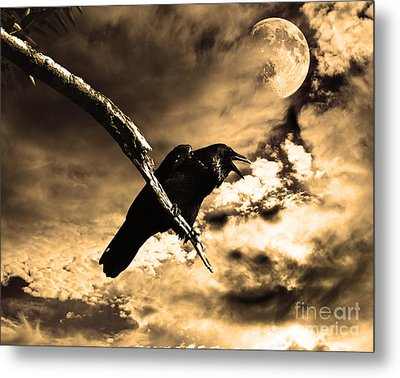 Devil In The Clouds Metal Print by Wingsdomain Art and Photography